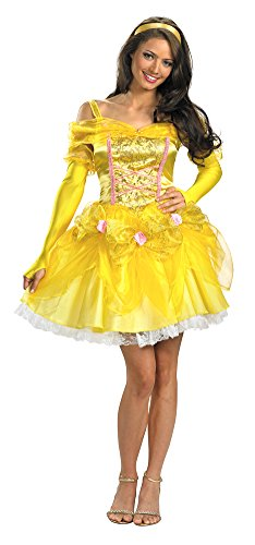 Disguise Women's Sassy Belle Costume Beauty and the Beast Medium