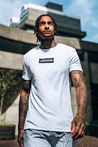 hype - Camiseta para Hombre, Color Blanco
