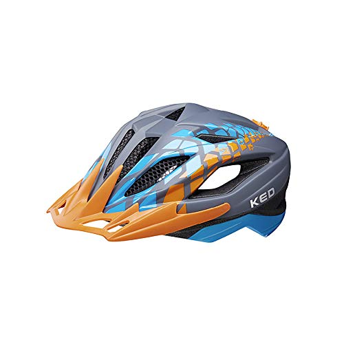 KED Street Jr. Pro Helm Kinder Grey Kopfumfang M | 53-58cm 2020 Fahrradhelm