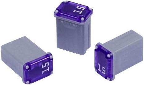 3 Stück Type J Micro Blocksicherung Jcase Japan Kfz Sicherungen 40 Ampere Grün Auto