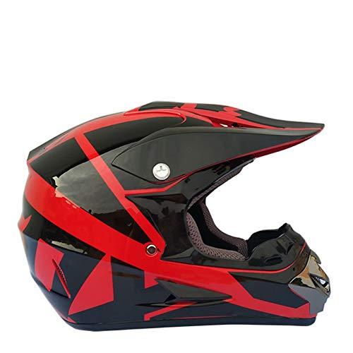 Off-road Motorcycle Helmet Full Face Motocross Helmets Motorbike Downhill Racing All Seasons Mountain Bike Safety Caps For Men