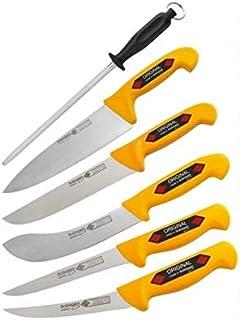 SOLINGEN EIKASO - Juego de cuchillos para carne (6 unidades) Para profesionales y privados.