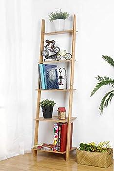 Best bamboo ladder shelf Reviews