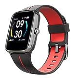 Smartwatch Mujer Hombre, Reloj Inteligente GPS con Pulsómetro Monitor de Sueño Calorías Podómetro Monitores de Actividad 5ATM Impermeable Reloj Deportivo con Esfera Personalizada 14 Modos de Deportes