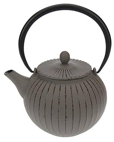 Cosy&Trendy 431251 Théière en fonte Lantern, gris, 1,2 L