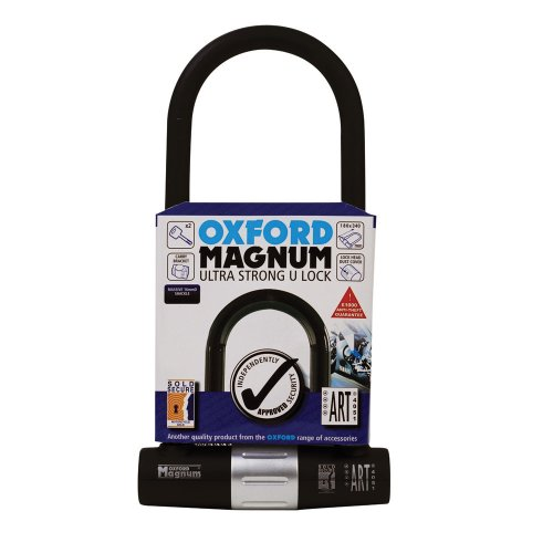 Oxford Ultra Stong U Lock OF173 Magnum U-blokkering