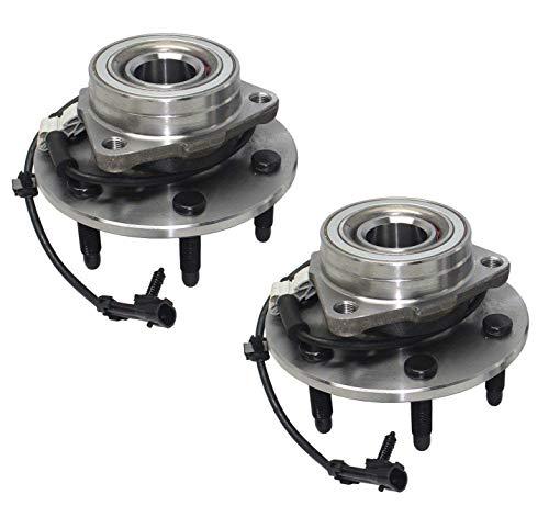 Bodeman - Pair 2 Front Wheel Hub and Bearing Assembly for 2002-2006 Cadillac Escalade (AWD)/ 2003-2006 Cadillac Escalade ESV/ 2002-2006 Cadillac Escalade EXT