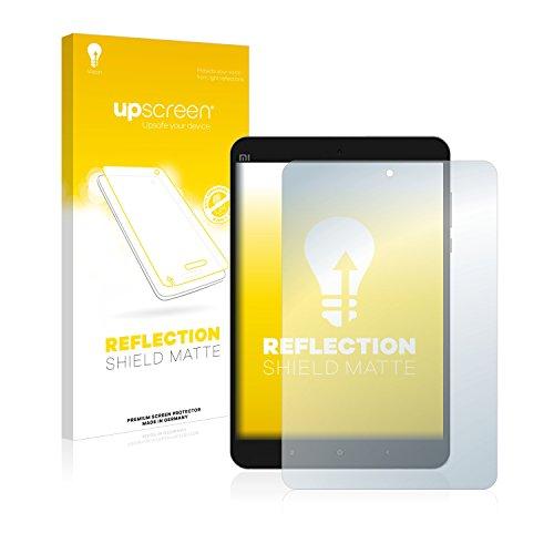 upscreen Entspiegelungs-Schutzfolie kompatibel mit Xiaomi Mi Pad 3 – Anti-Reflex Bildschirmschutz-Folie Matt