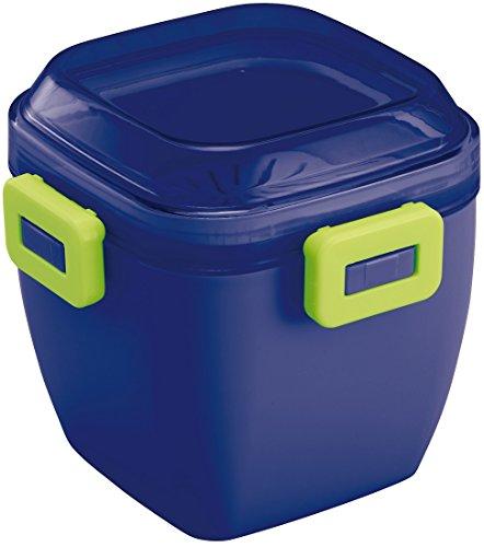 Skater Fluffy leaks Salad Lunch Box Lunch Box 620ml Marche Color Eggplant PFDN6N