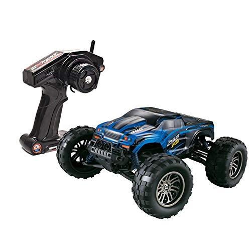 GRTVF RC Car, 1/12 Scale Remote Control Cars 4WD Off Off Load Monster Track Fast 43km / H RTR Todo Terreno Buggy 2.4GHz Drive Drive De Cuatro Ruedas Escalada del Vehículo Eléctrico para Principiantes