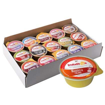 Indalitos - Manteca Colorá - Bandeja 18 Monodosis 25 g