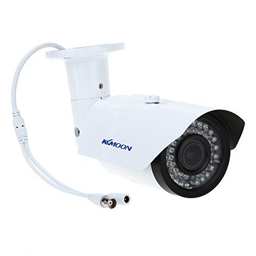 KKmoon Überwachungskamera 2.8-12mm 1200TVL 1/3 Zoll Sony 42 IR Outdoor Wasserdicht Zoom CCTV Kamera Überwachungskamera
