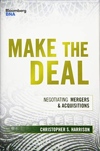 Make the Deal Negotiating Mergers and Acquisitions Bloomberg Financial product image