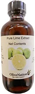 OliveNation Pure Lime Extract for Baking, Tart Citrus Flavor for Cakes, Cookies, Icing, Filling, Terpeneless, PG Free, No...