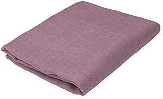 purple muslin swaddle