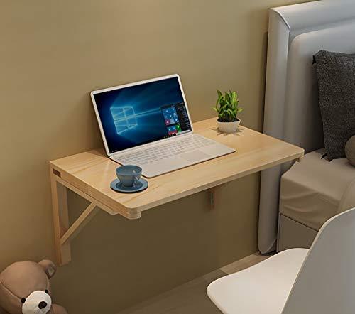 Mesa Plegable de Pared Mesa de Cocina Mesa de Centro Mesas de Estudio de Madera Maciza Junto a la Pared Escritorio de la computadora, Adecuado para Sala de Estar Librería