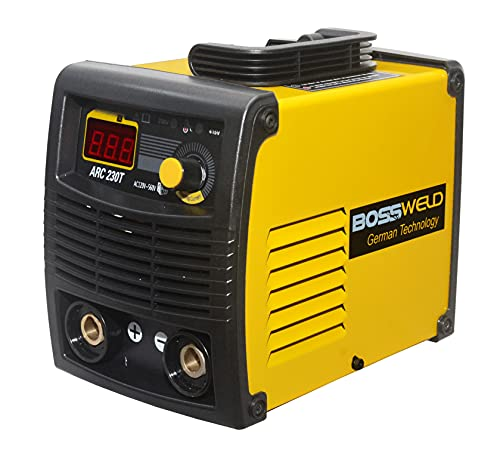BOSSWELD ARC 230T Portable Welding Machine Single/Double Phase (120V - 560V) with VRD Function 6 Months Warranty