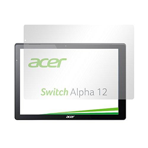 Slabo 2 x Pellicola Protettiva per Display Compatibile con Acer Switch Alpha 12 Protezione Crystal Clear