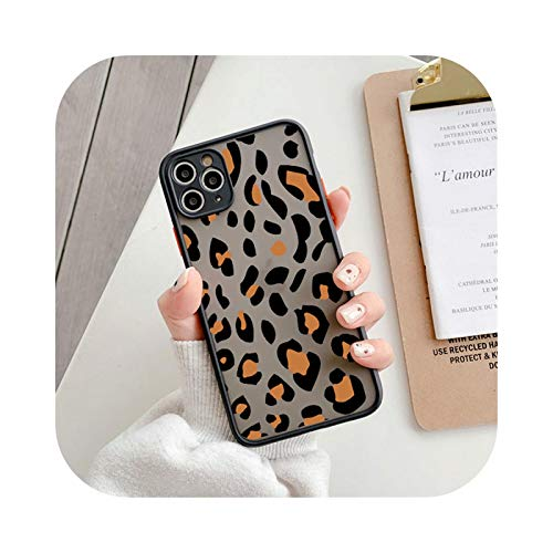 Funda de lujo a prueba de golpes para iPhone 11 Pro Max 12 XS Max 7 8 Plus X XR SE 2020 12 Mini Vintage Animal Pattern Shell-T1-Para iPhone 12