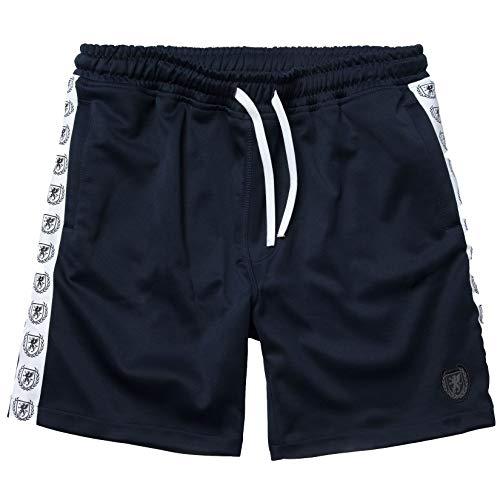 PGwear Herren Shorts Retro schwarz Maroon Navy (S, Navy)