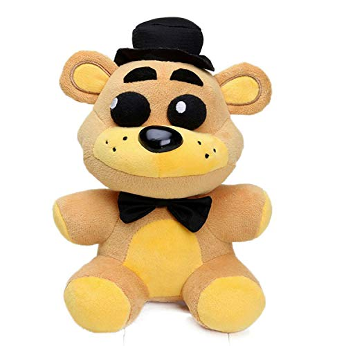 SHA FNAF Toy Freddy Plushie Fazbear 25cm Toys Five Nights at Freddy's Golden Bear Nightmare Cupcake Foxy Balloon Boy Clown Stuffed Dolls FNAF Plushies