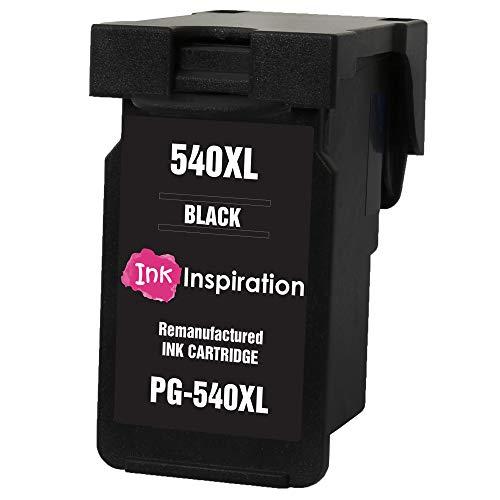 INK INSPIRATION® Schwarz Premium Druckerpatrone kompatibel für Canon PG-540XL Pixma MG4250 MG3550 MG3250 MG3150 MX395 MX535 MG4150 MG3650 MG2250 MG2150 MX525 MX475 MX455 MX435 MX375