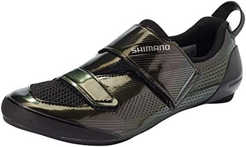 SHIMANO SH-TR9 Black Pearl 2021 - Scarpe da ciclismo, Unisex - Adulto, perla nera, 46 EU