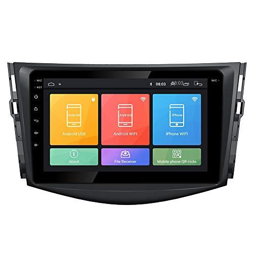 Android 10 autoradio Navigazione per auto headunit Stereo Lettore multimediale GPS Radio 2.5D IPS Touchscreen PerToyota RAV4 2007-2012