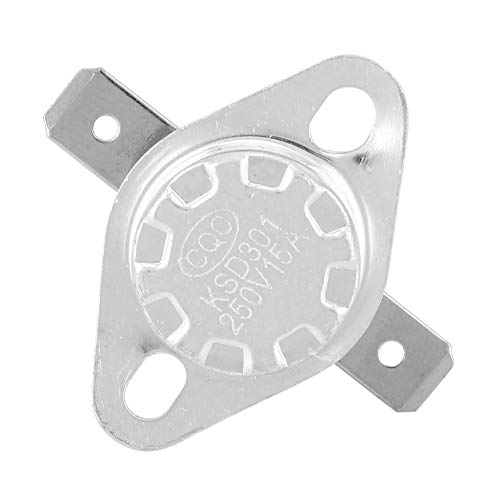 250 V 15 A - Interruptor de control de temperatura - Bolsas de agua caliente estables para horno microondas (150 °C)