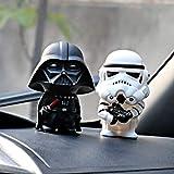 Gwgbxx 2 / Paire Star Wars Dark Knight Armes Soldat Tableau De Bord Intérieur De Poupée De Mode Accessoires Pièces Automobiles Décoratives