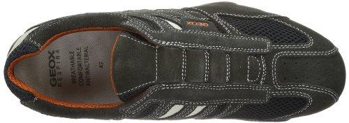 Geox UOMO SNAKE L, Herren Sneakers, Grau - 5