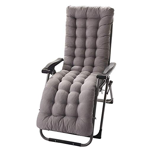 zyl Sun Lounger Cushions Replacement Cushion ONLY for Reclining Reclining Chairs Laces for Relaxation Seat Cushions (1 Brown)