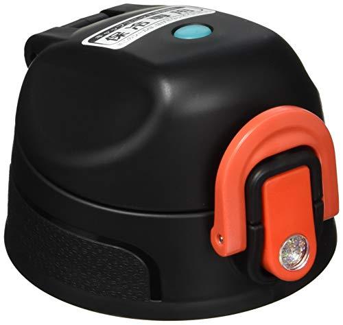 サーモス 交換用部品 2WAYボトル (FHO)用 キャップユニット ブラックレッド (フタパッキン・シールパッキン付き)
