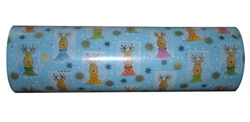 Woerner Geschenkpapier Weihnachten Nepomuk Rolle 250m x 50cm
