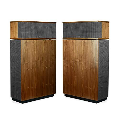 Best Bargain Klipsch Heritage Klipschorn Speaker Pairs (Walnut)