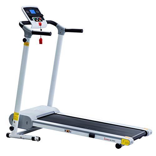 Sunny Health & Fitness Easy Assembly Motorized Walking Treadmill White