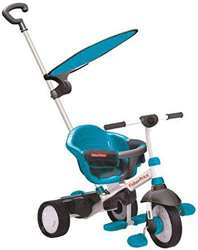 Fisher Price - Fp3250933 - Tricycle - Charm Plus - 3 en 1 - Bleu