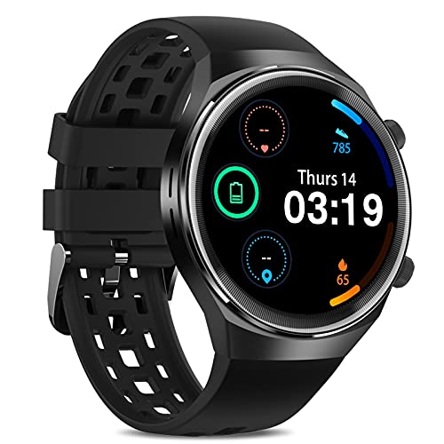 Smart Watch 2021,Smart Watch with Call,Health and Fitness Smartwatch with Sleep Tracker,App Message Reminder,Music Control,Waterproof Smart Watch for Android iOS Phone