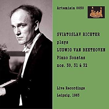 Beethoven: Piano Sonatas Nos. 30-32 (Live)