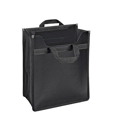 Veloflex 1445082 VELOBAG XXL Rucksackeinsatz, Sammelbox, Heftbox, Heftschoner, PP-Folie, für DIN A4, schwarz