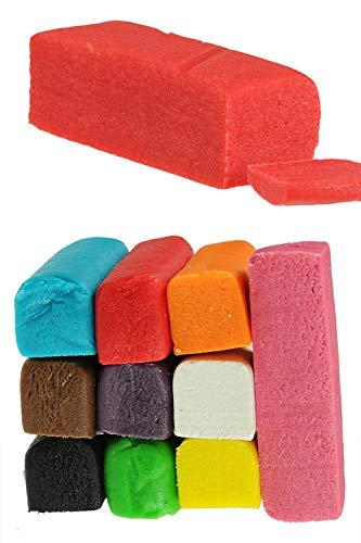 Hobbybäcker Marzipan Rot, ► Marzipantorten, Marzipan-Figuren, Marzipan-Rosen, Torten-Dekoration, Pralinen, 250 g