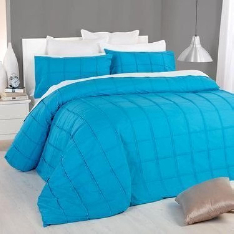 600tc Doudou 1pièce Fibre Remplir 200g m2 Italien Finition Turquoise Bleu Sarcelle Couleur Unie Euro Double IKEA Taille 100% Coton égypcravaten par Exclusif Parure de lit