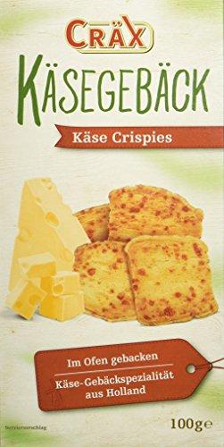 Cräx Käsegebäck Crispies 100 g (1 x 100 g)