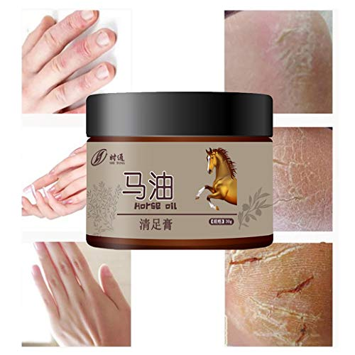 Fine Foot Creams Lotions,Moisturizing Cream for Adults and Kids,Horse Oil Moisturizer for Rough Dry...