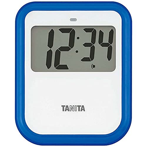TANITA Non-Contact Timer (Washable Type) TD-424 BL Blue (Japan Import)