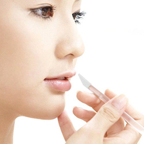 Frcolor 50 Pièces Pinceaux pour Lèvres Yeux Pinceaux Eponge de Maquillage Brosses Applicateurs