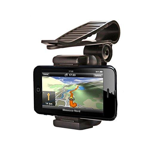 (チェンシ)chengsi スマートフォン ホルダー スマホ 車載 ホルダー サンバイザー ナビ 携帯 マウント