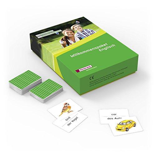 Willkommenspaket Englisch: Materialien für Willkommensklassen: Memo-Spiel: Deutsch/Englisch