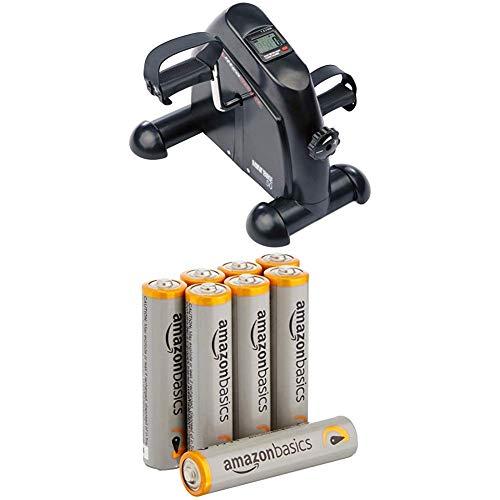 Ultrasport Mini Bike, Arm and Leg Trainer, Minibike, MB 50 with Amazon Basics Batteries
