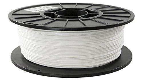 Filamento PLA Bianco 1.75mm Per Stampante 3D - rocchetto da 1kg - per MakerBot RepRap MakerGear Ultimaker & Up